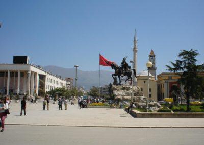 CANADA to Tirana